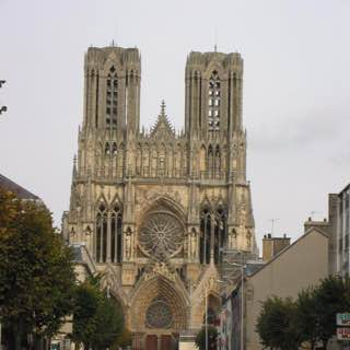Reims Cathedral, croatia , dalmatianorth