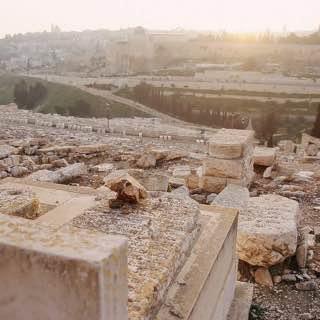 Mount of Olives, israel , deadsea