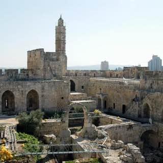 Tower of David, israel , deadsea