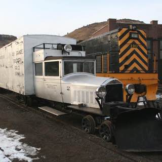 Colorado Railroad Museum, usa , denver