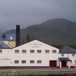 Ben Nevis distillery, scotland , eileandonan