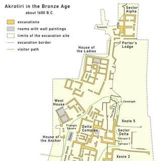 Akrotiri, greece , fira