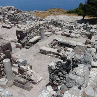 Ancient Thera, greece , fira
