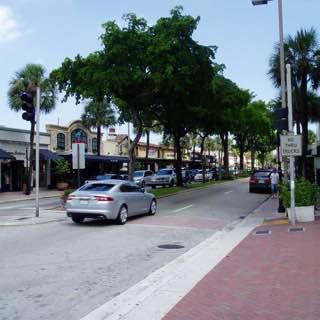 Las Olas Boulevard, usa , floridawestcoast