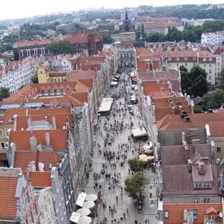 Long Lane, Gdańsk, poland , gdansk