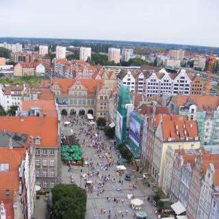 Long Market, poland , gdansk