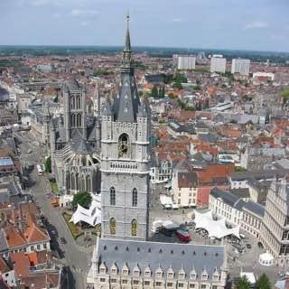 Belfry of Ghent, belgium , ghent
