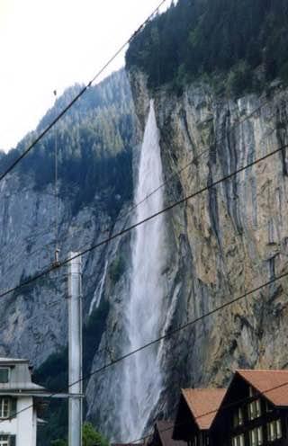 Staubbach Falls, switzerland , grindelwald