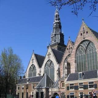 Oude Kerk, netherlands , haarlem