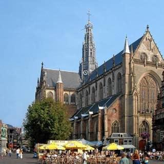 Grote Kerk, Haarlem, netherlands , hoorn