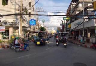 Walking Street, Pattaya, thailand , jomtien