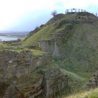 Sandal Castle, uk , leeds