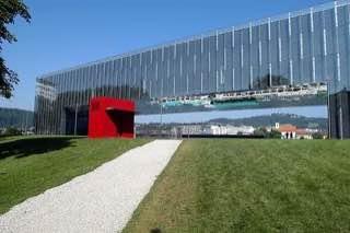Lentos Art Museum, austria , linz