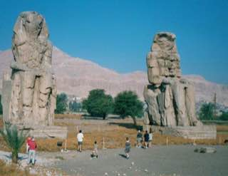 Colossi of Memnon, egypt , luxor