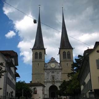 Church of St. Leodegar, switzerland , luzern