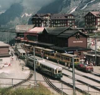 Wengernalp railway, switzerland , luzern