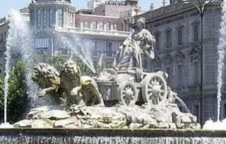 Plaza de Cibeles, spain , madrid
