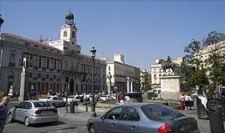 Puerta del Sol, spain , madrid