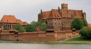 Malbork Castle, poland , malbork