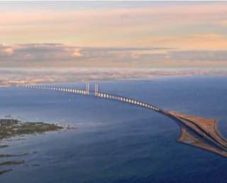 Øresund Bridge, sweden , malmo