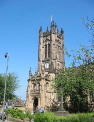 Manchester Cathedral, uk , manchester