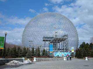 Montreal Biosphère, canada , montreal