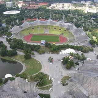 Olympiapark, Munich, germany , munich