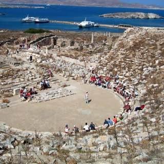 Archaeological Museum of Delos, greece , mykonos