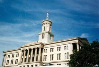 Tennessee State Capitol, usa , nashville