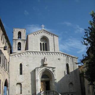 Grasse Cathedral, france , nice