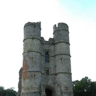 Donnington Castle, uk , oxford