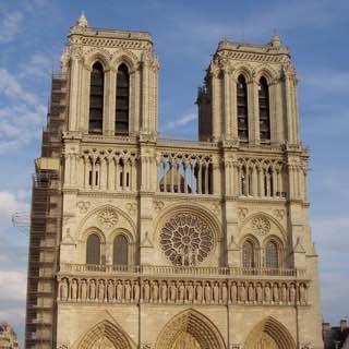 Notre Dame de Paris, france , paris