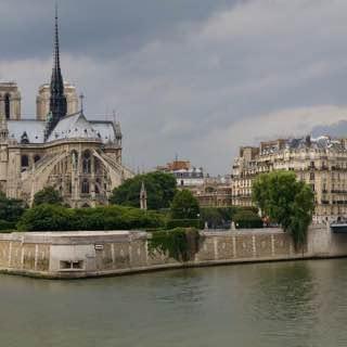 Île de la Cité, france , paris