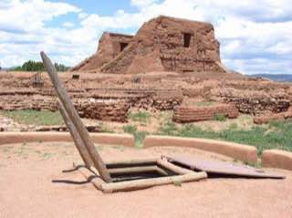 Pecos National Historical Park, usa , santafe