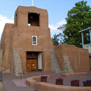 San Miguel Mission, usa , santafe