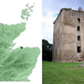 Spynie Castle, scotland , skarabrae