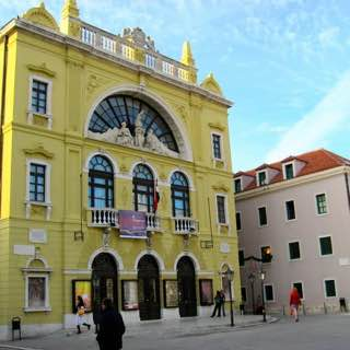 Croatian National Theatre in Split, croatia , split