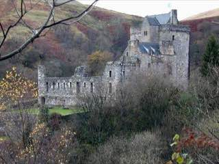 Castle Campbell, scotland , stirlingcastle