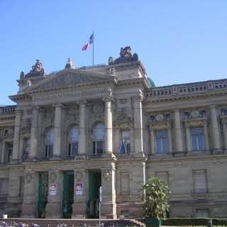 Bibliothèque nationale et universitaire, france , strasbourg