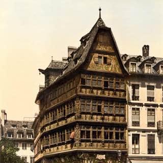 Kammerzell House, france , strasbourg