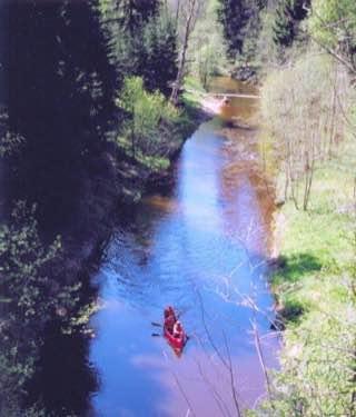 Ahja River, estonia , tartu