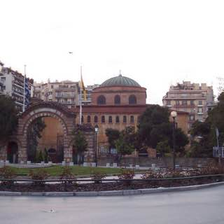 Hagia Sophia, Thessaloniki, greece , thessaloniki