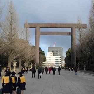 Yasukuni Shrine, japan , tokyo
