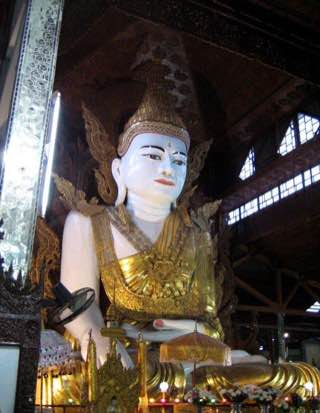 Nga-htat-gyi Buddha Temple, myanmar , yangon