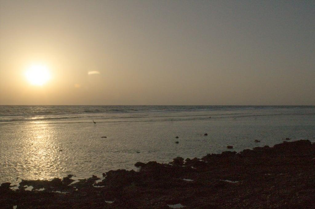 Billede af Dahab Divers Lodge Strand med en længde på 107 meter. dahab redsea egypt