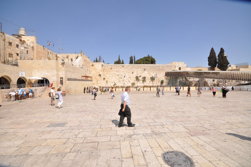 Image of Western Wall Plaza.