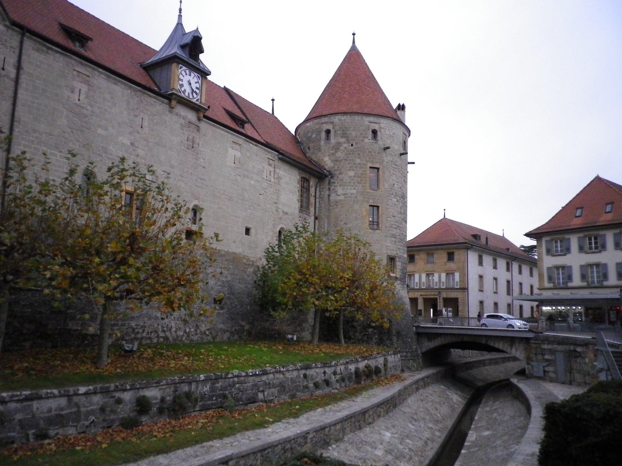 Image of Château d'Yverdon.