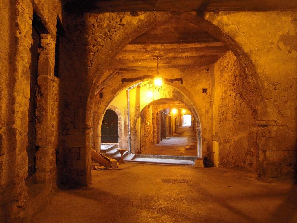 Obraz Rue Obscure. frankreich france paca 06 alpesmaritimes rueobscure villefranchesurmer côtedazur méditerranée
