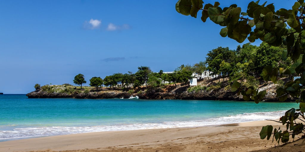 Imagem de Playa Moron perto de Samaná Province. beach landscapes hispaniola republicadominicana 2014 samana quisqueya