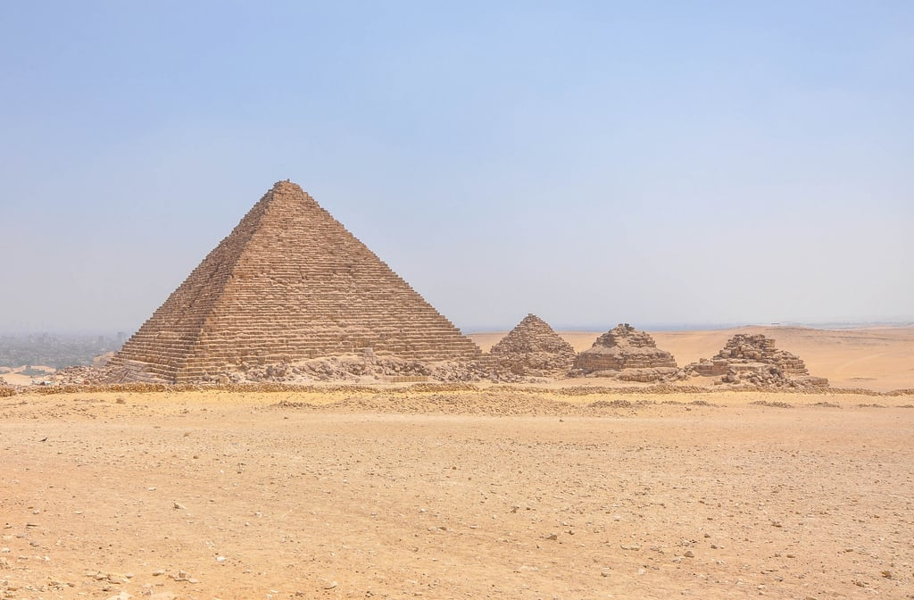 Изображение на Pyramid of Menkaure.